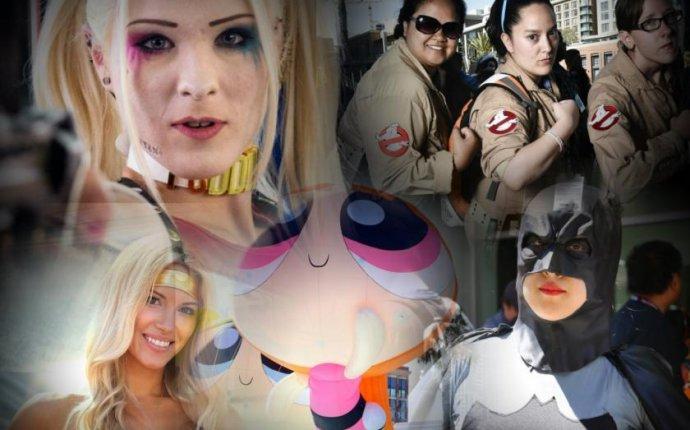 Чудо-женщина и Бэтмен: косплей на Comic-Con 2016