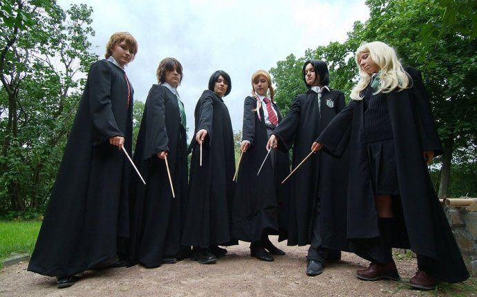 Гарри Поттер рядом с нами - красивый косплей » Фэнтези, фантастика