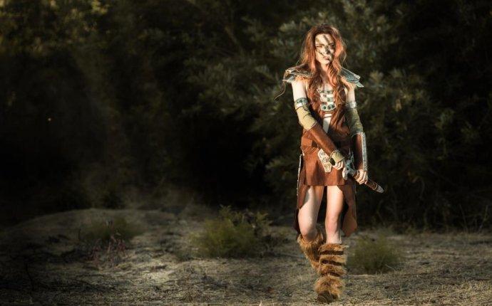 Косплей: Эйла-Охотница — Elder Scrolls V: Skyrim, The — Игры