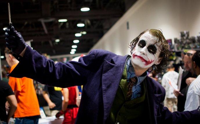 крутой косплей Джокера