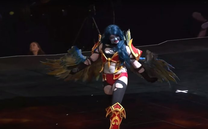 Победитель конкурса косплеев Blizzard на Gamescom 2016