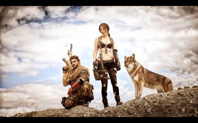 Потрясающий косплей Metal Gear Solid 5 с настоящим волком - Блоги